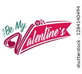 valentine symbol. happy...   Shutterstock .eps vector #1284140494