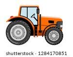 tractor vehicle vector...   Shutterstock .eps vector #1284170851