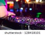 nightclub parties. dj | Shutterstock . vector #128418101