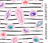 hand drawn doodles icon... | Shutterstock .eps vector #1284187237