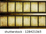 old film strip | Shutterstock . vector #128421365