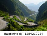 Motorbikers On Winding Roads...