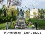 los angeles  california  united ... | Shutterstock . vector #1284218221