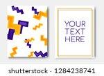 modern trendy flyer concept...   Shutterstock .eps vector #1284238741