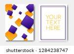 modern trendy flyer concept...   Shutterstock .eps vector #1284238747