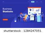 modern flat design concept of...   Shutterstock .eps vector #1284247051