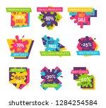 premium quality  90  off ... | Shutterstock . vector #1284254584