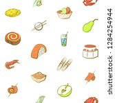 various images set. background... | Shutterstock .eps vector #1284254944