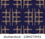 art deco seamless pattern.... | Shutterstock .eps vector #1284273931