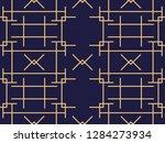 art deco seamless pattern.... | Shutterstock .eps vector #1284273934