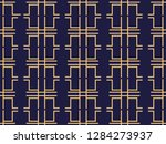 art deco seamless pattern.... | Shutterstock .eps vector #1284273937