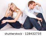 relationship problems | Shutterstock . vector #128432735
