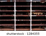 rusted grill | Shutterstock . vector #1284355