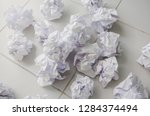 no idea and fail concept   many ...   Shutterstock . vector #1284374494
