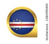 flag of cape verde  location... | Shutterstock .eps vector #1284390304