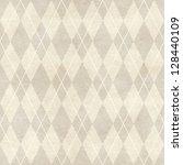 seamless retro harlequin... | Shutterstock . vector #128440109