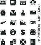 solid black vector icon set  ... | Shutterstock .eps vector #1284412534