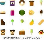 color flat icon set   easter... | Shutterstock .eps vector #1284426727