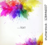 modern design template with... | Shutterstock .eps vector #128446037