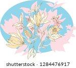 Chinoiserie Vector Flowers....