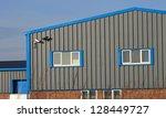 exterior of modern industrial... | Shutterstock . vector #128449727