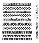 set of ornaments. eps8 vector | Shutterstock .eps vector #128451071