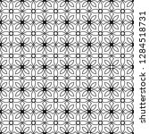 seamless monochrome interlaced...   Shutterstock .eps vector #1284518731
