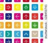 seamless pattern of colored...