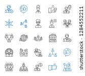 community icons set. collection ... | Shutterstock .eps vector #1284552211