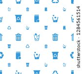 recycling icons pattern...   Shutterstock .eps vector #1284561514