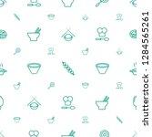 cuisine icons pattern seamless... | Shutterstock .eps vector #1284565261