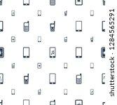 communicator icons pattern...   Shutterstock .eps vector #1284565291