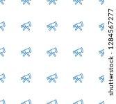telescope icon pattern seamless ... | Shutterstock .eps vector #1284567277