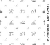 build icons pattern seamless... | Shutterstock .eps vector #1284569557