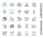 tree icons set. collection of... | Shutterstock .eps vector #1284582151