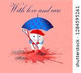 vector illustration is suitable ...   Shutterstock .eps vector #1284595261