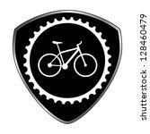 badge biking | Shutterstock .eps vector #128460479