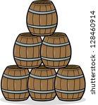 cartoon vector illustration of... | Shutterstock .eps vector #128460914