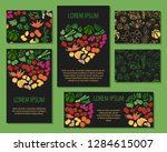 vector colorful illustrations... | Shutterstock .eps vector #1284615007