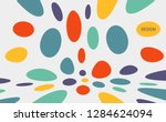 abstract background with color... | Shutterstock .eps vector #1284624094