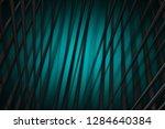 illustration turquoise digital... | Shutterstock . vector #1284640384