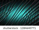 illustration turquoise digital... | Shutterstock . vector #1284640771