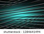 illustration turquoise digital... | Shutterstock . vector #1284641494