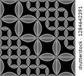 seamless black and white... | Shutterstock .eps vector #1284642391