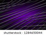 illustration purple digital... | Shutterstock . vector #1284650044