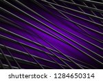 illustration purple digital... | Shutterstock . vector #1284650314