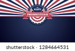 happy presidents day banner... | Shutterstock .eps vector #1284664531