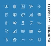 editable 25 knot icons for web... | Shutterstock .eps vector #1284665551
