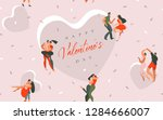 hand drawn vector abstract...   Shutterstock .eps vector #1284666007