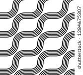 design seamless monochrome...   Shutterstock .eps vector #1284675307